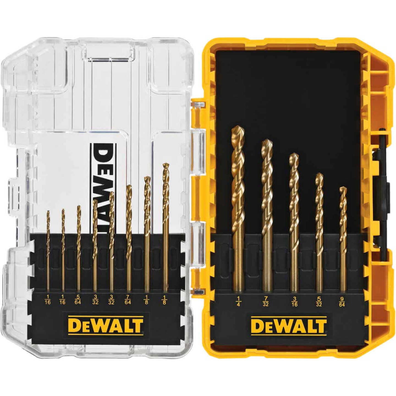DeWalt 13-Piece Titanium Drill Bit Set Image 1