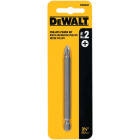 DeWalt Phillips #2 3-1/2 In. 1/4 In. Power Screwdriver Bit Image 1