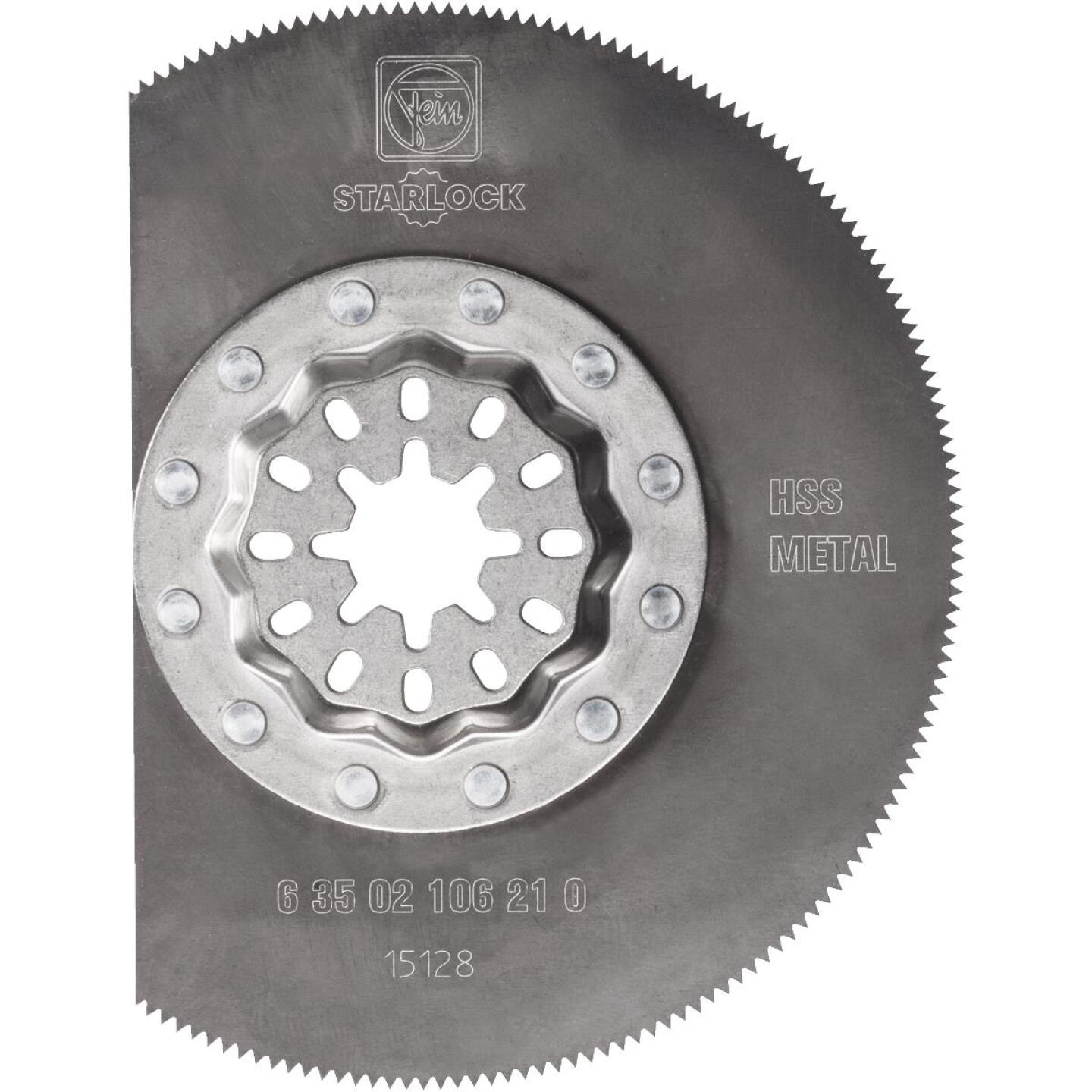 Fein Starlock 3-1/8 In. Stainless Steel HSS Oscillating Blade Image 1