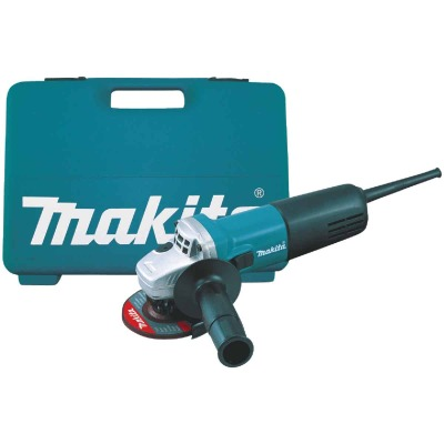 Makita 4 In. 6-Amp Angle Grinder Kit