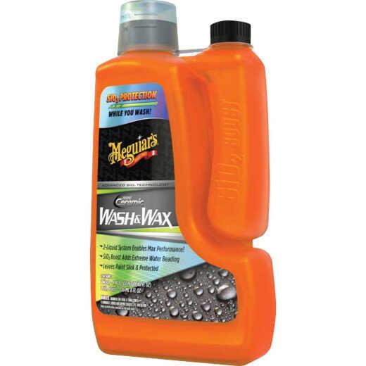 Meguiar's 48 Oz. Liquid Hybrid Ceramic Car Wash & Wax
