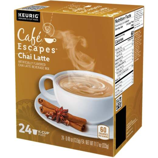 Keurig Cafe Escapes Chai Latte K-Cup (24-Pack)