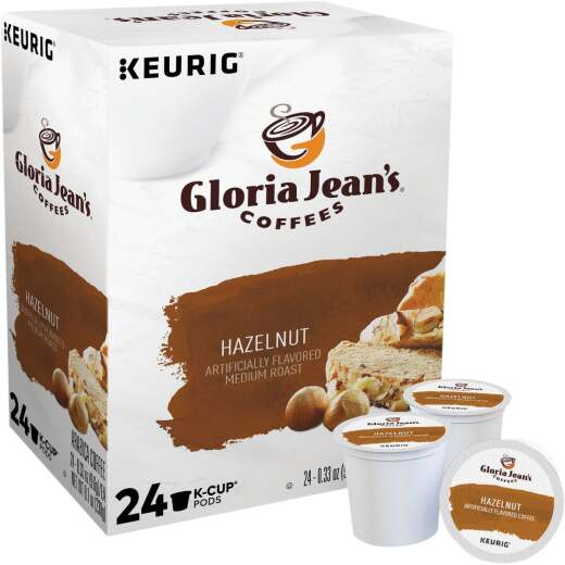 Keurig Gloria Jeans Coffees Hazelnut K-Cup (24-Pack)