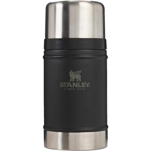 Stanley 24 Oz. Black Stainless Steel Thermal Food Jar Mug