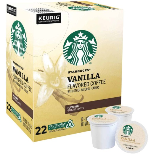 Keurig Starbucks Vanilla Coffee K-Cup (22-Pack)