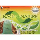 Bag To Nature 33 Gal. Green Compostable Houston Approved Lawn & Leaf Bag (10-Count) Image 1